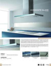 Elica Horizonte Island Sell Sheet 2015