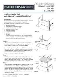 Sedona Cart Care Use