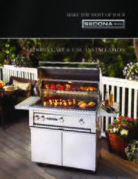 Sedona Grills Use and Care