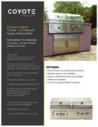 Coyote C1ch36 36 Inch Freestanding Grill In Stainless