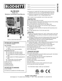 BLCM 62G Specification
