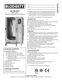 BLCM 202G Specification