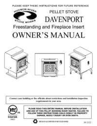 Hudson River Stove Works Davenport Manual