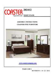 Nightstand Assembly Instructions