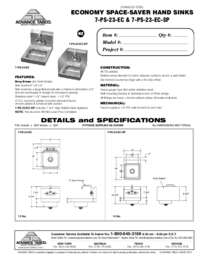 7 PS 23 EC Spec Sheet