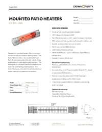 Insta Heat Spec Sheet