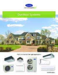 Ductless System Catalog