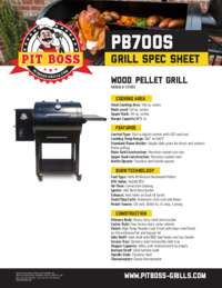 700S Spec Sheet