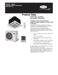 Cassette Ductless Data Sheet