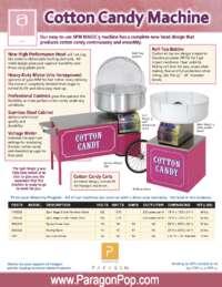 Paragon Cotton Candy Manual