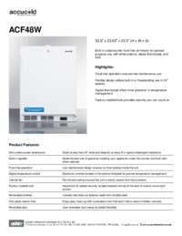 Brochure ACF48W