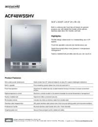 Brochure ACF48WSSHV