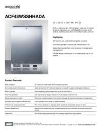 Brochure ACF48WSSHHADA