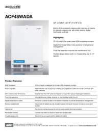 Brochure ACF48WADA