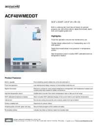 Brochure ACF48WMEDDT