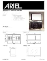 D061D  Install spec sheet