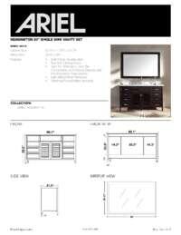 D061S  Install spec sheet