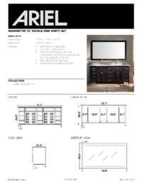 D073D  Install spec sheet