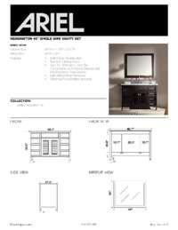 D049S  Install spec sheet