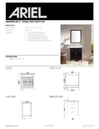 D031S  Install spec sheet