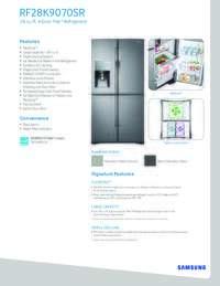 RF28K9070 Spec Sheet