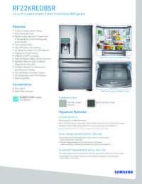 RF22KREDB Spec Sheet