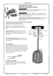 Pendant Light Installation Instructions