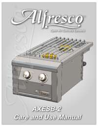 AXESB 2 CARE AND USE MANUAL