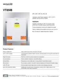 Brochure VT85IB