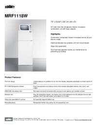 Brochure MRF1118W