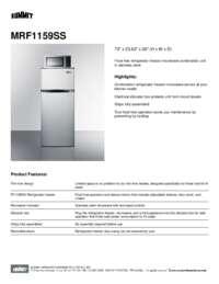 Brochure MRF1159SS