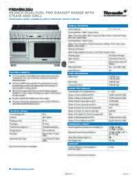 PRD48NLSGU Spec Sheet