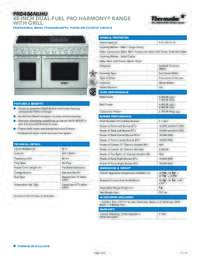 PRD486NLHU Spec Sheet