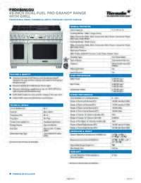 PRD486NLGU Spec Sheet