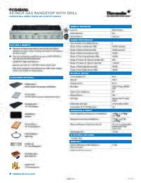 PCG486NL Specifications
