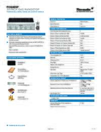 PCG305P Specifications