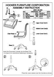 Brookhaven Desk Chair Assembly Instruction