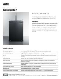 Brochure SBC635M7