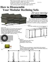 Power Motion Furniture Disassembly Guide