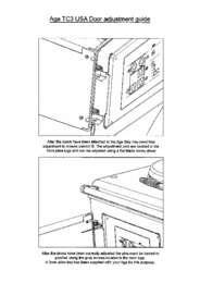 AGA Cast Iron Ranges Product Door Adjustment Guide