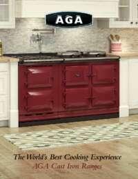 AGA Cast Iron Ranges Brochure