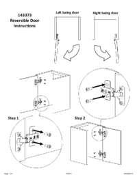 Reversible Door Instructions
