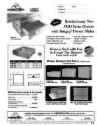 SHD Drawer Spec Sheet