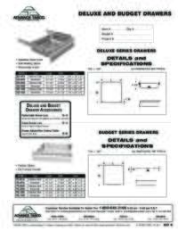 Deluxe Drawers Spec Sheet