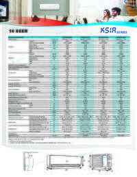 KSIA Series Specifications Sheet