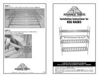 Installation Instructions for Keg Racks