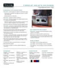 2 Page Spec Sheet