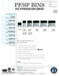 Ice Storage Bins and Top Kits Guide