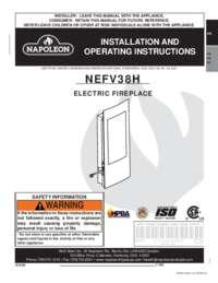 NEFV38H Installation and Operating Manual