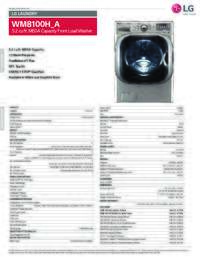 WM8100 Spec Sheet